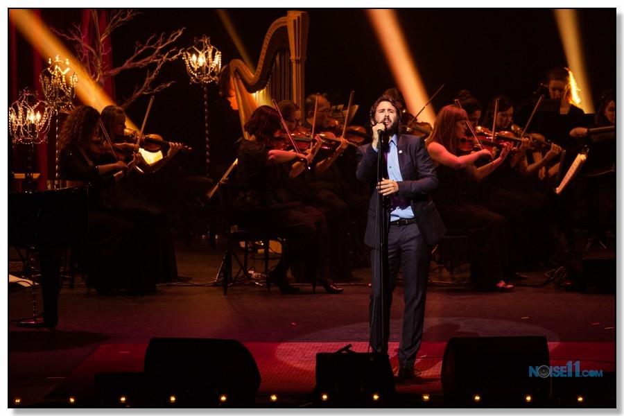 Josh Groban Concert Photo by Ros O'Gorman