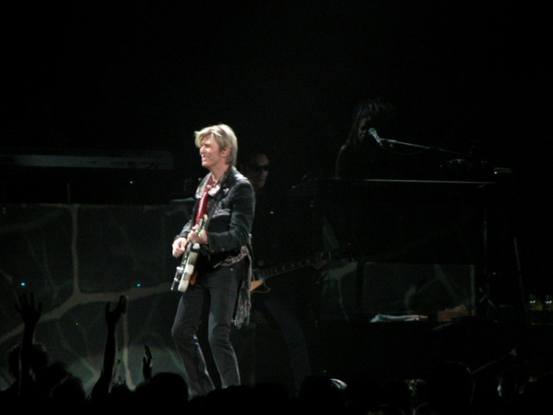 David Bowie A Reality Tour Concert. Photo by Ros O'Gorman