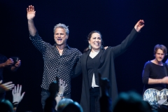 Jon Stevens and Kate Ceberano