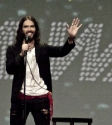Russell Brand: Photo Mary Boukouvalas