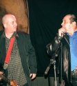 Stevie Wright and Glenn Goldsmith Hard Road Book Launch Photo by Ros O'Gorman