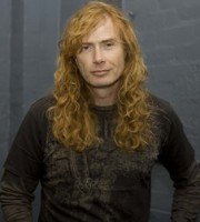 Dave Mustaine of Megadeth. Photo by Ros O'Gorman.