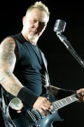 James Hetfield, Metallica. Photo by Ros O&#039;Gorman