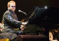 Elton John. image by Ros O'Gorman
