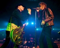 Sylvain Sylvain and David Johansen, New York Dolls - Photo By Ros O&#039;Gorman
