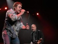 Roger Daltrey and Pete Townshend, The Who. photo by Ros O'Gorman
