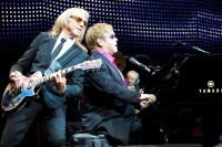 Elton John, Davey Johnstone, Nigel Olsson - Photo By Ros O&#039;Gorman