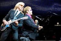 Elton John, Davey Johnstone, Nigel Olsson - Photo By Ros O'Gorman