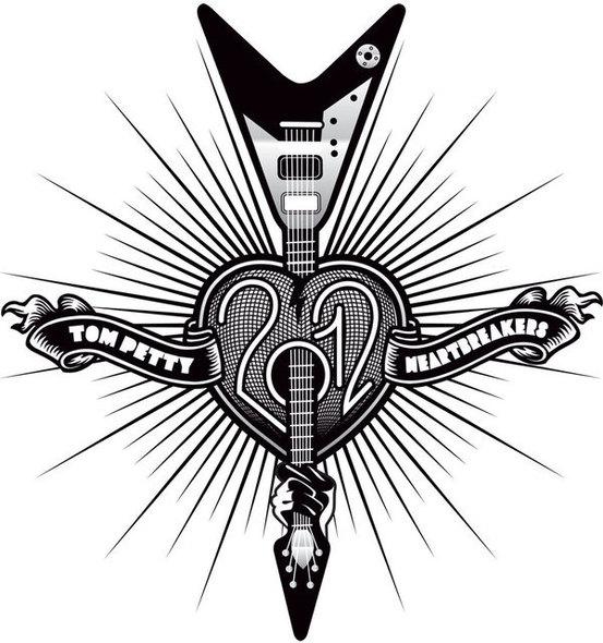 Tom Petty 2012 tour poster - Noise11.com