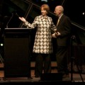 Julia Gillard at the Bell Awards. Photo by Ros O&#039;Gorman, Noise11, Photo