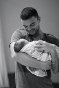 Guy Sebastian and Hudson James. photo from Guy's Twitter