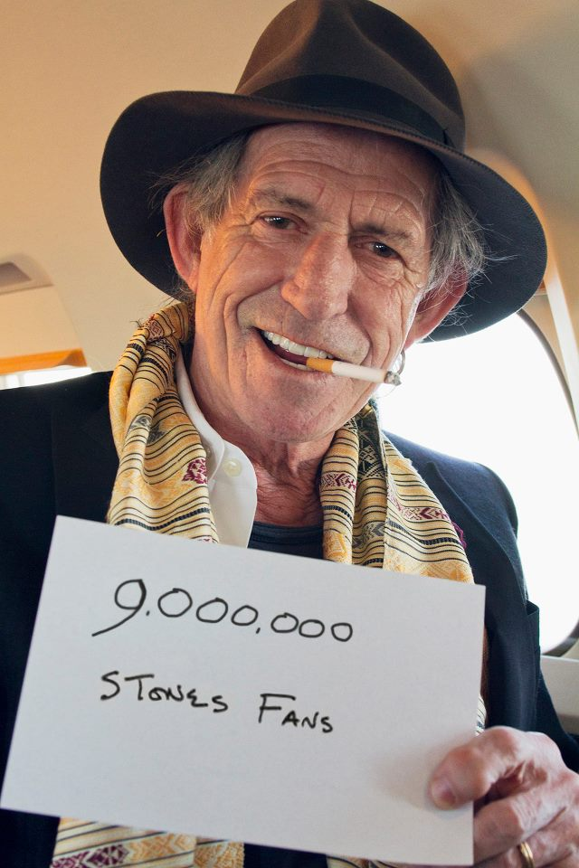 Keith Richards On Facebook Noise11 Com
