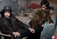 The GQ Jack White and Wanda Jackson photo