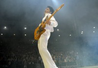 Prince at Rod Laver Arena image from NPG Records