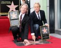 America getting their star on the Hollywood Walk Of Fame