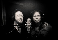 Julian Lennon and Steven Tyler. photo from Julian Lennon Facebook