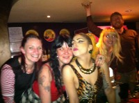 Lady Gaga  and friends at NSC