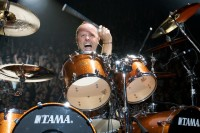 Metallica, Lars Ulrich, photo by Ros O'Gorman