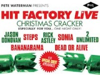 Hit Factory Live Christmas Cracker