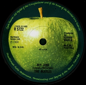 Hey Jude The Beatles First Apple Record Noise11 Com