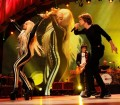 Rolling Stones with Lady Gaga