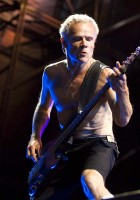 Flea, Red Hot Chili Peppers, Photo By Graham Spillard
