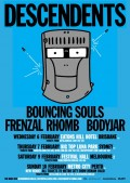 Descendents Aussie tour poster