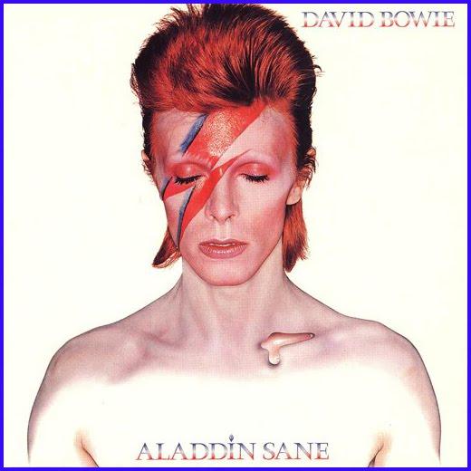 David bowie aladdin sane remastered for 40th anniversary - Aladdin singe ...