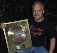 Mark Evans ACDC Gold record, Noise11, photo