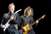 James Hetfield and Kirk Hammett, Metallica, Soundwave 2013, Photo Ros O'Gorman