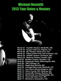 Nesmith 2013 tour