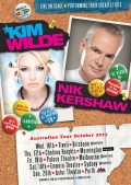 Kim Wilde and Nik Kershaw to tour Australia for Tombowler, Noise11, Photo
