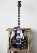 SLAM Crazy Horse signed guitar photo by Ros O'Gorman, Noise11, photo