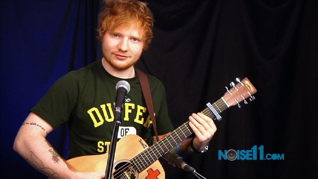 Ed Sheeran at Noise11
