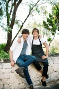 Alex James and Matt Stone