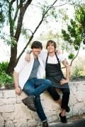 Alex James and Matt Stone