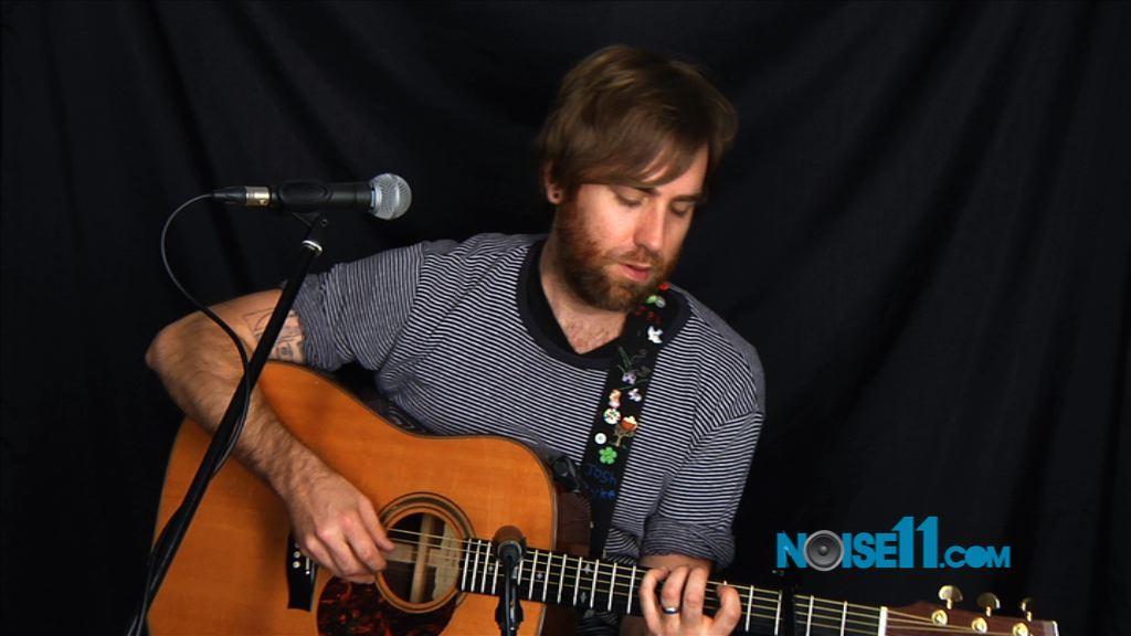 Josh Pyke performs at Noise11