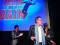 Geoffrey Rush, John Foreman, Gary Young, Singing In The Rain, Ros O'Gorman, Photo