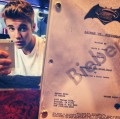 Justin Bieber Superman v Batman selfie, Noise11, photo