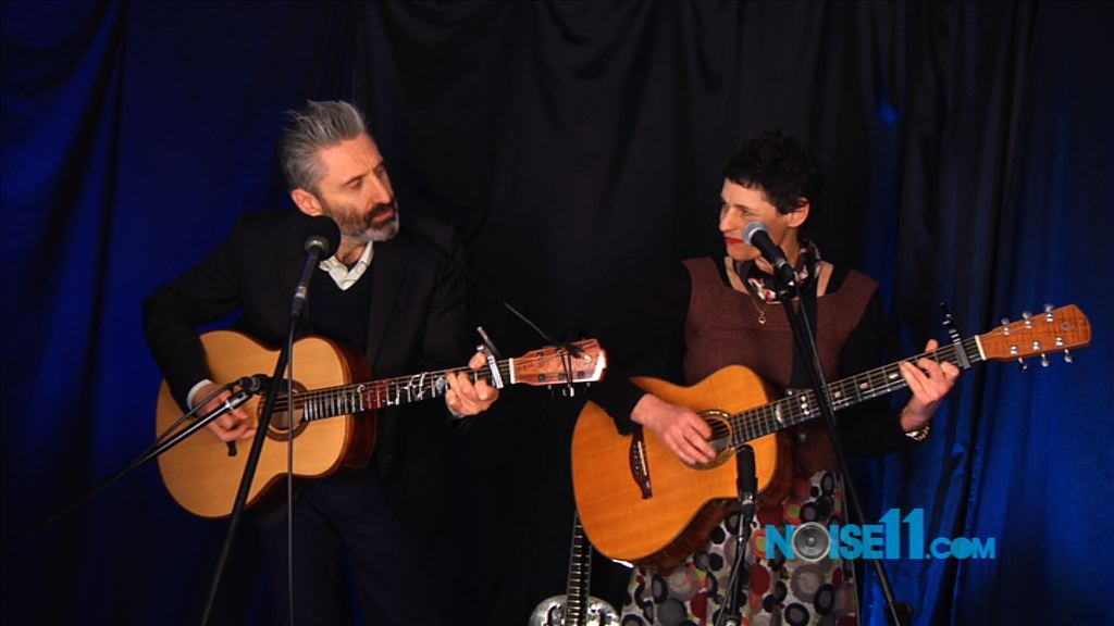 Deborah Conway and Willy Zygier at Noise11, Photo