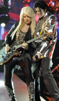 Orianthi with Michael Jackson