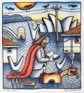 Reg Mombassa The Australian Jesus collection