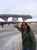 Dave Grohl at the Super Bowl