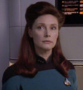 Wendy Hughes in Star Trek