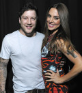 Matt Cardle and Mel C