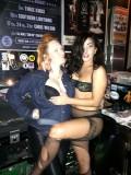 DJ Mermaid and Lady Gaga at Cherry Bar