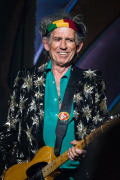 Keith Richard by Ros O'Gorman, the Rolling Stones Melbourne 2014