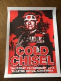 Cold Chisel Canberra poster