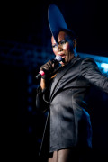 Grace Jones photo by Damien Loverso, music news, noise11.com