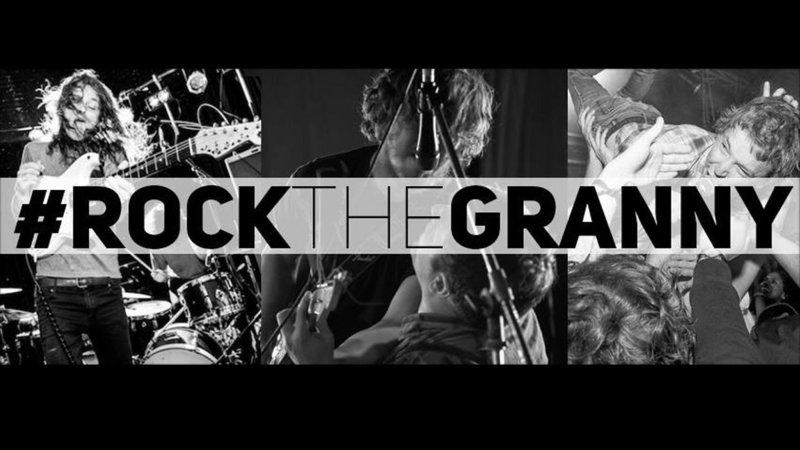 Very Hotttt Granny rock was hot